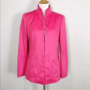 Escada Pink Cashmere Blazer Jacket